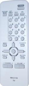 Пульт RM-C115 оригинальный для телевизора JVC