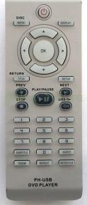 Пульт RC2013 DVD USB для видеотехники PHILIPS
