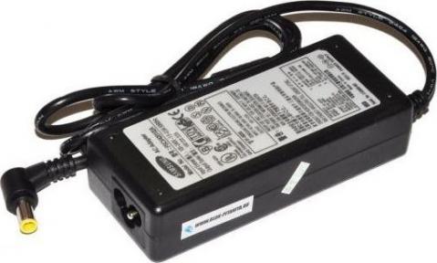 Блок питания для ноутбука SAMSUNG 19V 2,1A 5,0 мм с иглой + сетевой кабель