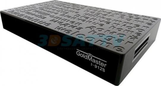Комбинированный 4K ресивер GoldMaster I-912B