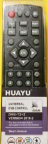 Пульт HUAYU для ресиверов DVB-T2+2 Версия 2018-2