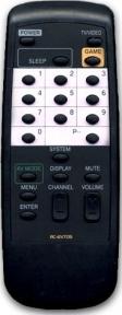 Пульт RC-6VT05, 06 для телевизора AIWA