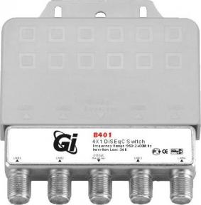 DiSEqC переключатель GI B401 (4x1)