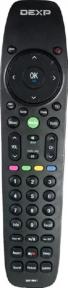 Пульт DEXP 34019641 LCD TV чёрный оригинальный