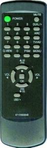 Пульт 6710V00054E CH. для телевизора LG