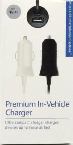 Зарядка для iPhone 6  2А автомобильная premium In-Vehicle Charger