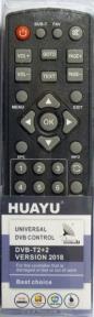 Пульт HUAYU для ресиверов DVB-T2+2 версия 2018 г.