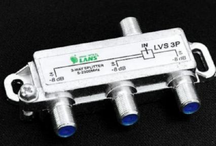 Спутниковый сплитер LVS 3P на 3 ресивера