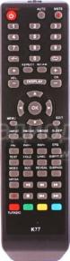 Пульт 81LTV7003 LCD TV для телевизора ПОЛАР