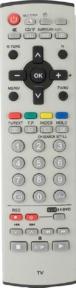 Пульт N2QAJB000108 tv/vcr/dvd для телевизора PANASONIC