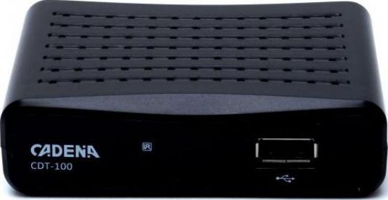 Эфирный тюнер DVB-T2 Cadena CDT-100