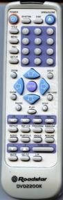 Пульт DVD 2200K оригинальный для видеотехники ROADSTAR