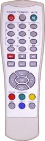 Пульт Vision DVB-T2 T40 для эфирных ресиверов World
