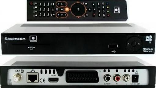 Спутниковый ресивер НТВ Sagemcom DSI87 + договор 184 руб