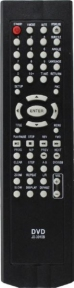 Пульт JX-3010B DVD (SUPRA) для видеотехники FUSION
