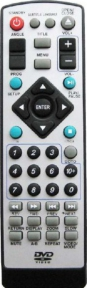 Пульт KT-6222 DVD, VITEK, RUBIN для плеера AKIRA