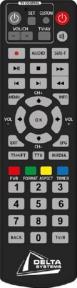 Пульт DS-950HD DVB-T2 для ресивера Delta Systems