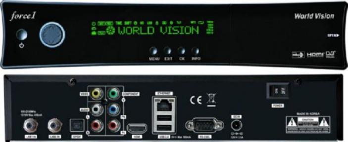 Спутниковый ресивер World Vision Force1 CI+ уценка