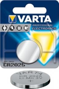 Батарейка литиевая СR2025 Varta