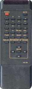 Пульт 105-198C S,H для телевизора GOLDSTAR