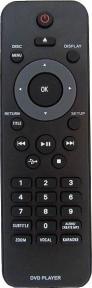 Пульт RC 2422 5490 1933 DVD с USB+KARAOKE для видеотехники PHILIPS