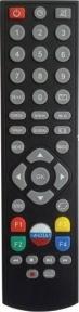 Пульт 8306 с кнопкой для  спутниковых ресиверов DRE