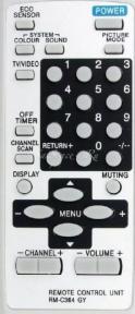 Пульт RM-C364GY для телевизора JVC