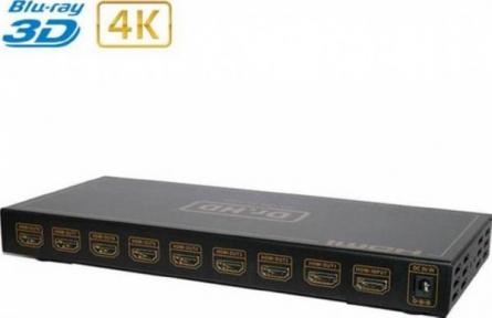 HDMI делитель Dr.HD SP 184 SL Plus 1вход/8вых