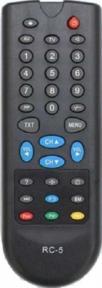 Пульт RC-5 Рыба для телевизора HORIZONT