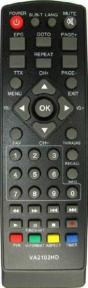 Пульт Master VA2102HD, Locus ADS-361 DVB-T2 для ресивера Kaskad
