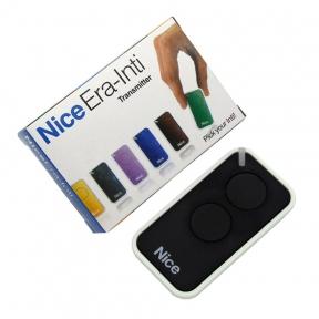 Пульт для гаражных систем Nice Era-Inti 2 кнопки, 2-х канальный