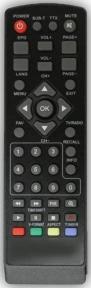 Пульт DVB-T2 T34 для эфирных ресиверов WORLD VISION