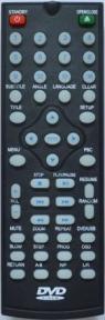 Пульт WS-528 DVD для видеотехники IZUMI