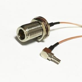 Адаптер для модема (пигтейл) CRC9-N ( female) кабель RG316