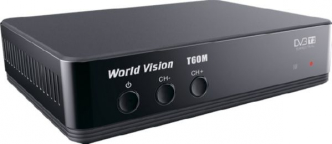 Ресивер эфирный World Vision T60M