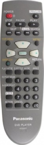 Пульт VEQ2377 DVD оригинальный для видеотехники PANASONIC