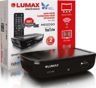 Ресивер эфирный LUMAX DVT2-1110
