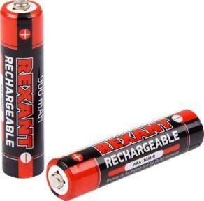 Аккумулятор Rexant AAA 1.2V,  900 mAh 2 шт