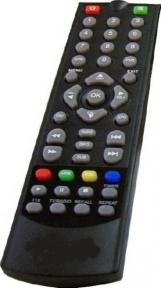 Пульт EDR-7819 DVB-T2 для эфирных ресиверов ELECT