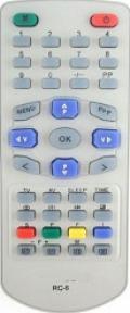 Пульт RC-6 таблетка для телевизора HORIZONT