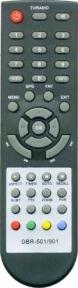 Пульт DBR-501 DBR-901 SELENGA для эфирных ресиверов MDI