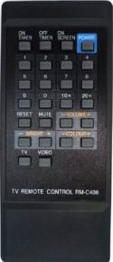 Пульт RM-C408 CH для телевизора JVC