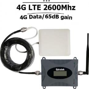 Комплект, репитер для усиления сигнала 4G 2600 МГц LTE
