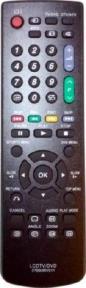 Пульт для Sharp 076B0RV011 LCD TV, DVD
