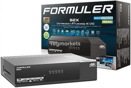 Спутниковый и IPTV ресивер Formuler S2X 4К