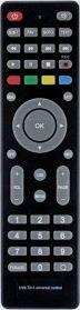Пульт универсал для DVB-T2 + 3 KASKAD/MISTERY2622L
