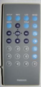 Пульт RM6005 DVD портативный для видеотехники MUSTEK
