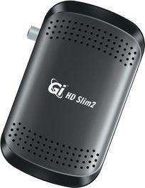 Спутниковый ресивер GI HD Slim 2 с wifi адаптером