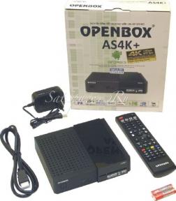 Спутниковые ресиверы Openbox AS4K+ Multi Stream уценка