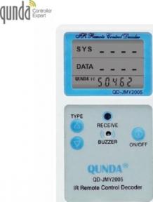 Ик детектор с определением микросхемы пульта Qunda QD-JMY2005